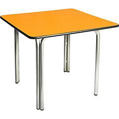 Mesa 55x60x60 cm amarillo