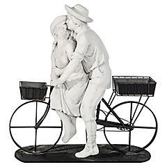 Estatua con macetero Amicizia