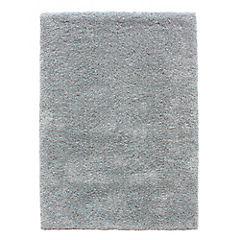 Alfombra Soft Yarn turquesa 60x90 cm