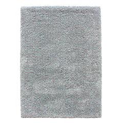 Alfombra Soft Yarn turquesa 160x230 cm