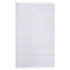 Alfombra Chennai gris/blanco 160x230 cm