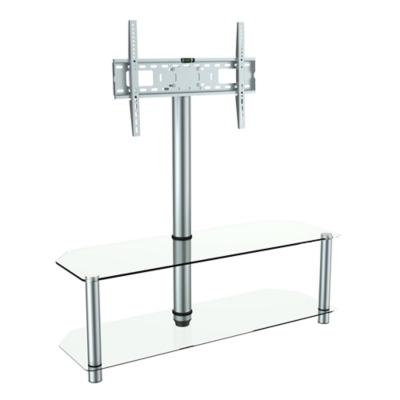 Rack de tv 120x40x130 cm gris for Mueble zapatero sodimac