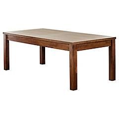 Mesa de comedor 78x105x300 cm beige