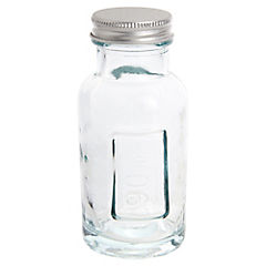 Frasco con tapa 90 gr vidrio transparente