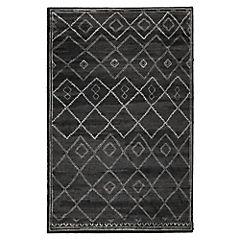 Alfombra Elegance cosy negra 200x290 cm