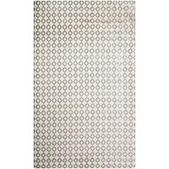 Alfombra Optic punto blanco/gris 160x230 cm