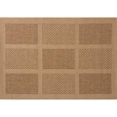 Alfombra Cuadro 120x170 cm beige