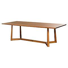Mesa de comedor 76x110x260 cm café