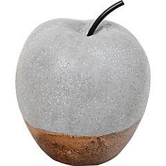 Adorno manzana 16.5 cm resina