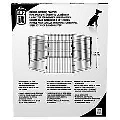Corral para interior y exterior 60x76 cm