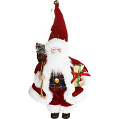 Santa bolsa regalo 23 cm