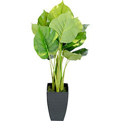 Pothos artificial 65 cm con macetero