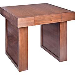 Mesa lateral 51x55x55 cm chocolate