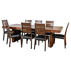 Juego de comedor Akita 8 sillas PU