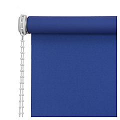 Cortina enrollable black out 160x165 cm azul