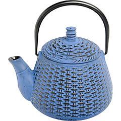 Tetera fierro 800 ml azul