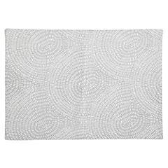 Individual gris diseño 45x33 cm