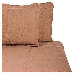 Quilt Mediterráneo chocolate 2 plazas