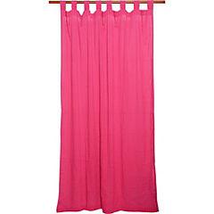 Cortina Loop 140x230 cm rosado
