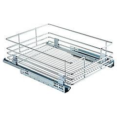 Organizador extensible 14x40x36.4 cm acero Cromado