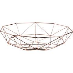 Centro de mesa geométrica dorada G