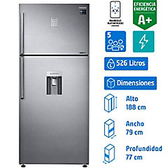 Refrigerador no frost RT53K6541SL TMF