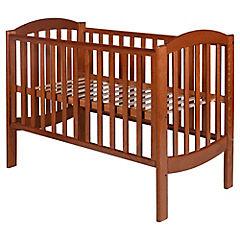 Cuna madera Curva 124,5x64,8x94,4 cm cedro