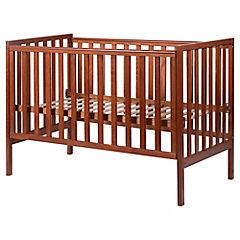 Cuna de madera recta 124.9x65.6x88 cm cedro