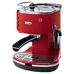 Cafetera espresso 1,4 litros rojo