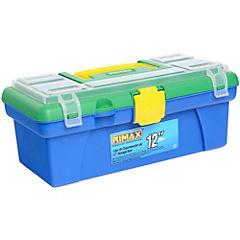 Caja organizadora 6 litros 30,4x15,7x12,7 cm verde