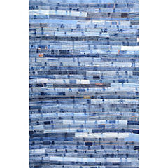 Alfombra Denim líneas 120x170 cm