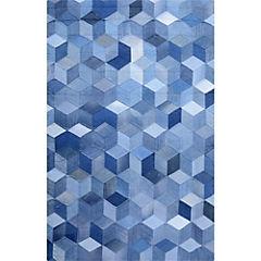 Alfombra Denim cubos 120x170 cm