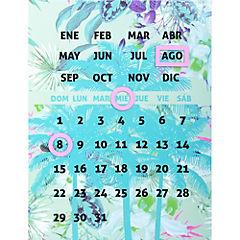 Pizarra calendario 1764-99A
