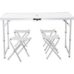 Set plegable 5 piezas mesa/pisos