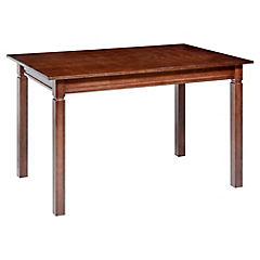 Mesa de comedor 75x80x160 cm chocolate