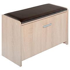 Zapatera Komfort 1 cajón 70x49.2x29.2 cm oak