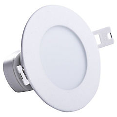 Set de focos LED embutidos 10 cm 4 W 10 unidades