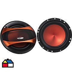 Componente de audio para auto 250 W