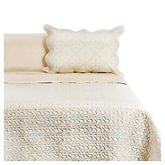 Quilt + sábana lisa Gina 2 plazas