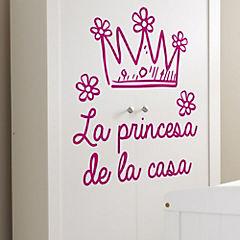 Sticker 60x70 cm la princesa de la casa
