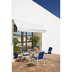 Toldo retráctil Awning 3x2 m blanco