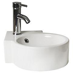 Lavamanos Loza 35,8x13x35,8 cm