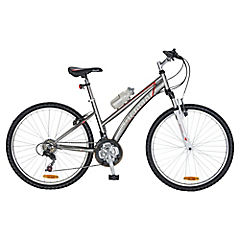 Bicicleta Classic 26 lady sus plateado