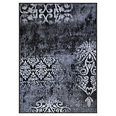 Alfombra frize monte gris 66x110 cm