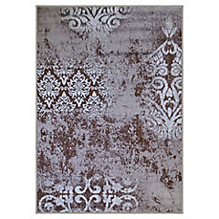 Alfombra frize monte chocolate 150x200 cm