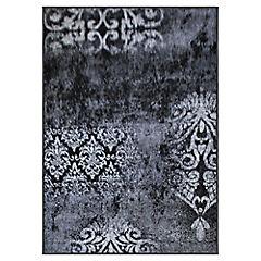 Alfombra frize monte gris 150x200 cm