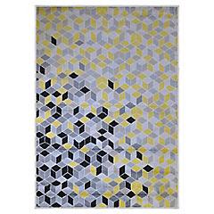 Alfombra frize 160x230 cm Bosco amarillo