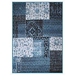Alfombra frize 160x230 cm Bosco azul