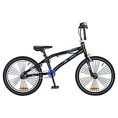 Bicicleta Freestyle negra mate