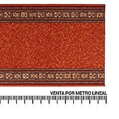 Alfombra pasillo nylon Terracota